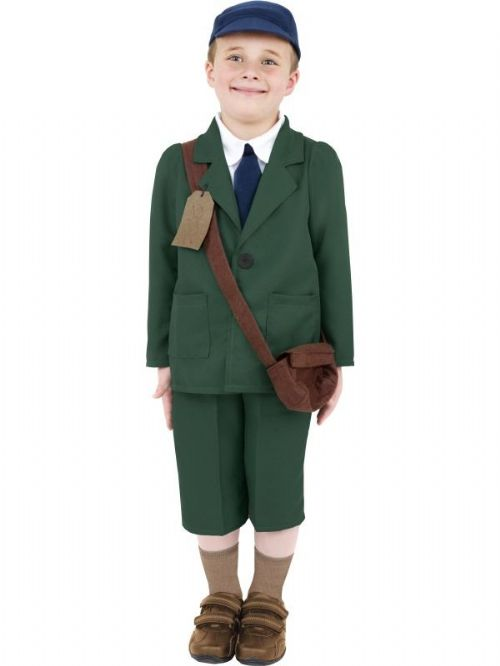 World War II Evacuee Boy Costume